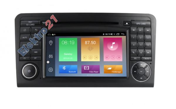 Mercedes autorádio android ML/GL - offline GPS navigácia