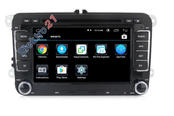 Autorádio Android 9 s GPS navigáciou a WiFi