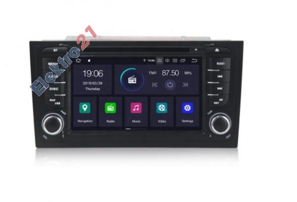 Audi A6 autorádio android - offline GPS navigácia