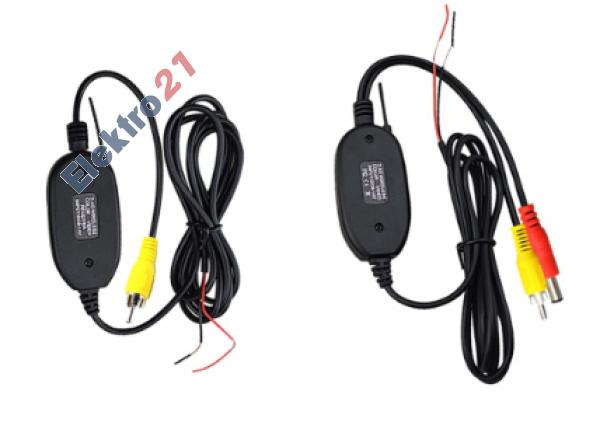Bezdrôtový WiFi vysielač a príjmač pre cúvaciu kameru