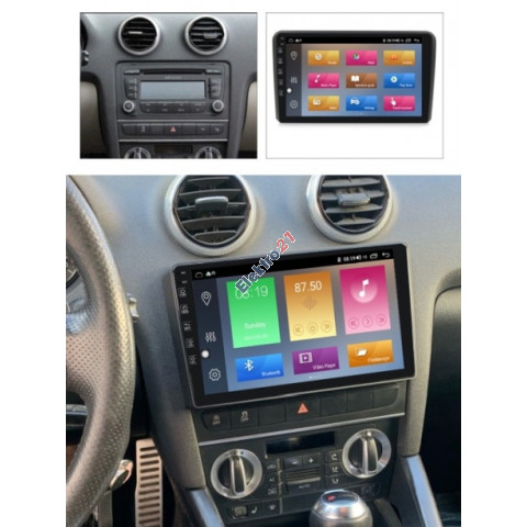 Autorádio 9´´ Audi 3 2006-2011 - Android s offline navigáciou Sygic