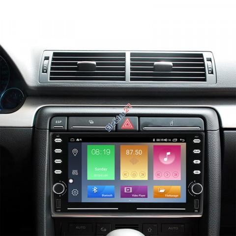 Audi A4 B6 autorádio android 9 - offline GPS navigácia