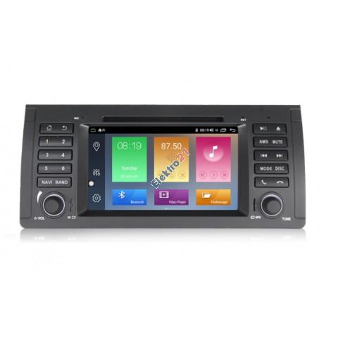 BMW 5 Series (E39) Android autorádio s offline GPS navigáciou