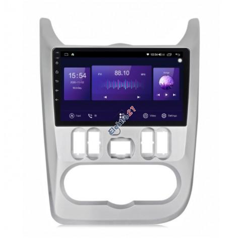 Android autorádio s offline navigáciou pre Dacia/Renault/Lada