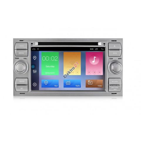 Ford autorádio Android 9 s GPS offline navigáciou