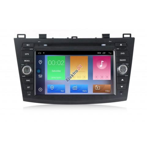 Autorádio Android Mazda 3 2010 - 2013 s offline navigáciou
