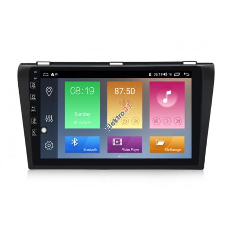 Autorádio Android Mazda 3 2004 - 2010 s offline navigáciou