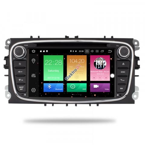 Ford autorádio Android 8.1 s GPS offline navigáciou