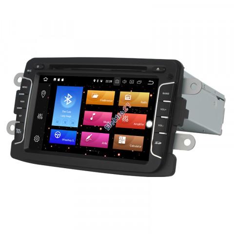 Android autorádio s offline navigáciou pre Renault/Dacia/Lada