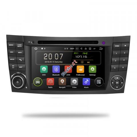 Mercedes autorádio android E trieda - offline GPS navigácia