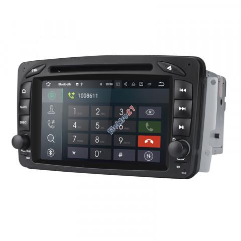 Mercedes autorádio android - offline GPS navigácia