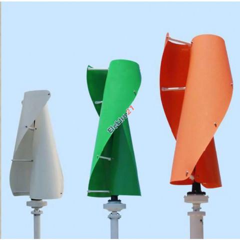 Vertikálna veterná turbína 600W 12/24/48V