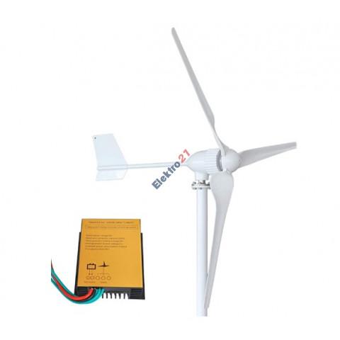 Veterna turbína 1000 W + regulátor na batérie