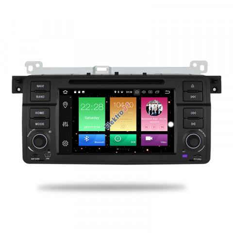 BMW 3 Series (E46) Android autorádio s offline GPS navigáciou