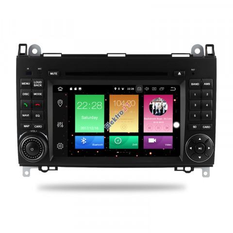 Mercedes/VW autorádio android - offline GPS navigácia