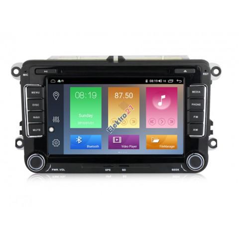 Autorádio Android 10 s GPS navigáciou a WiFi